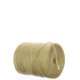 Jute thread, with 3 wires, on roll, ca1kg, natural